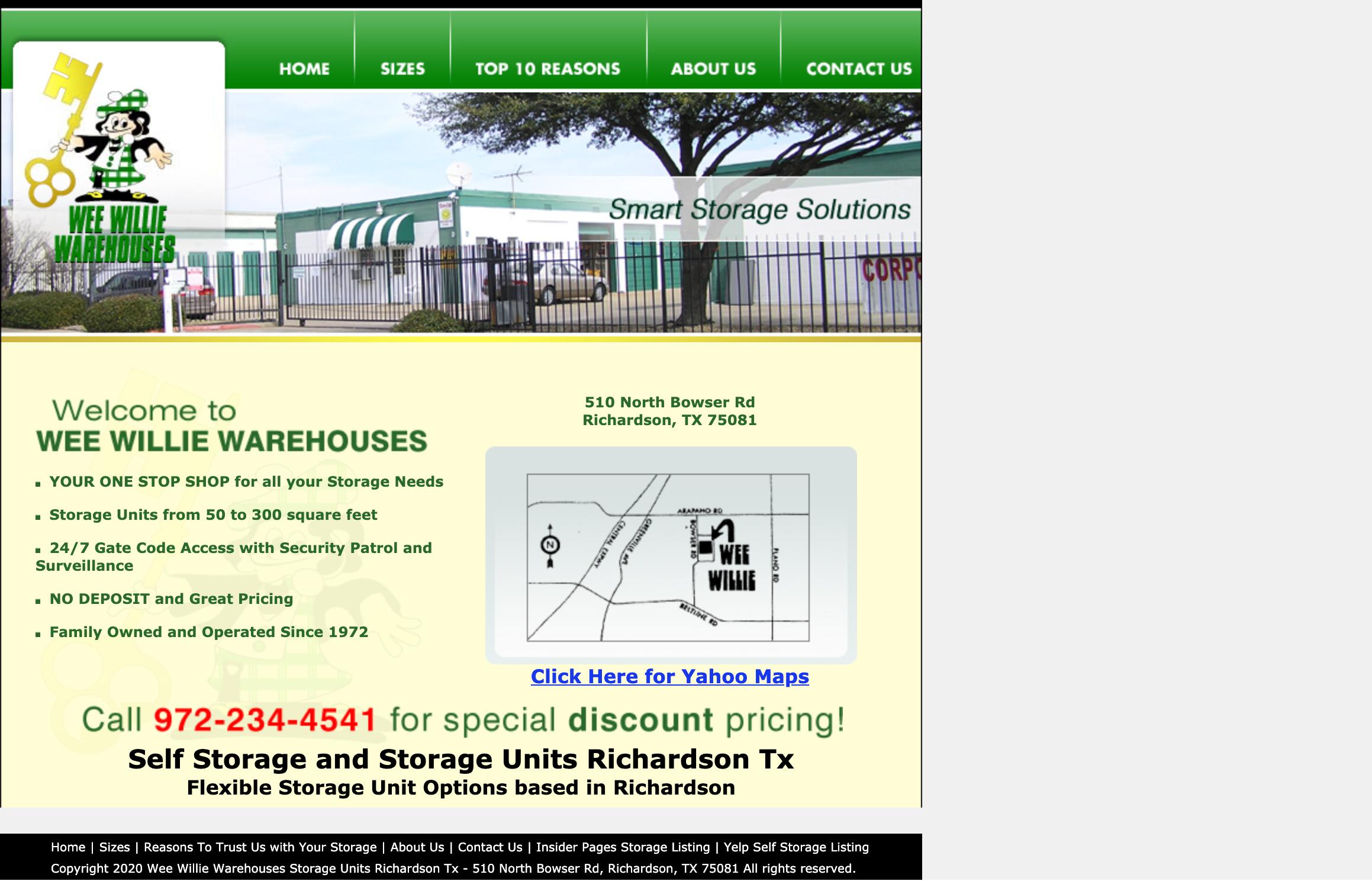 Wee Willie Warehouse in Richardson TX